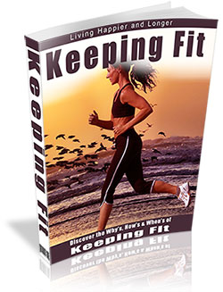 Keeping Fit PLR Book Cover for Niche Health Products