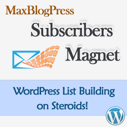 Subscribers Magnet WordPress Plugin