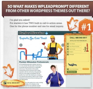 Wordpress Local Marketing theme wpleadprompt