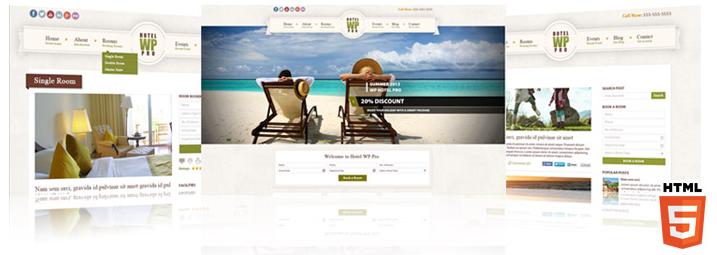 review of WP Hotel PRO WordPress Theme