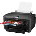 Epson WorkForce WF-7110 Wireless and WiFi Direct, Wide-Format Color Inkjet Printer, 2-Sided Auto Duplex
