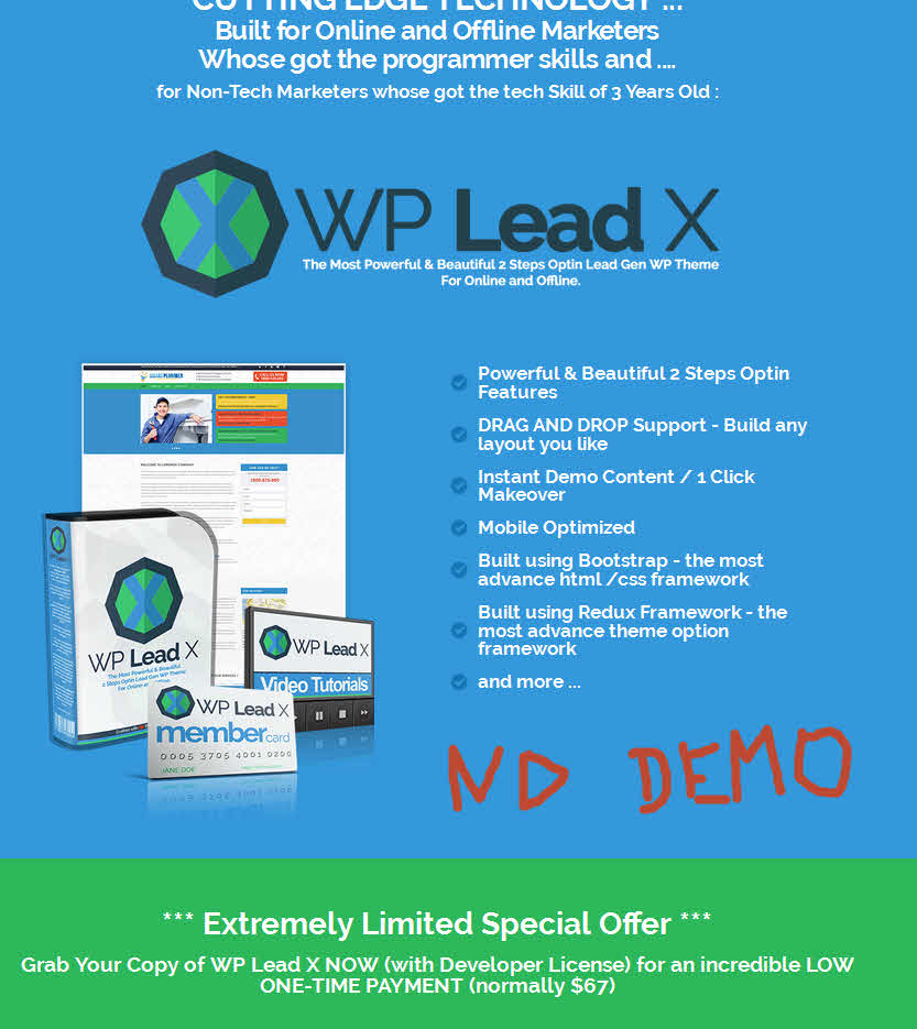 review of wp lead x